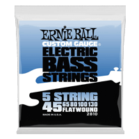 Flatwound 5-string Electric Bass Strings Thumb