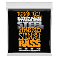 Hybrid Slinky Stainless Steel Electric Bass Strings Thumb