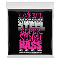 Super Slinky Stainless Steel Electric Bass Strings Thumb