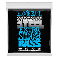 Extra Slinky Stainless Steel Electric Bass Strings Thumb