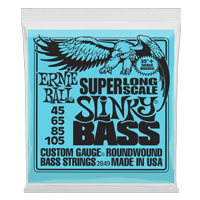 Super Long Scale Slinky Electric Bass Strings Thumb