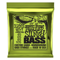 Regular Slinky Nickel Wound Short Scale Bass Strings - 50-105 Gauge Thumb