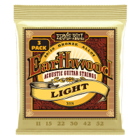 Earthwood Light 80/20 Bronze Acoustic Guitar Strings 3-Pack Thumb