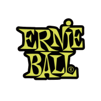 Ernie Ball Stacked Green Logo Sticker Thumb