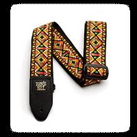 Sangle Jacquard motif Santa Fe pour Guitare Thumb