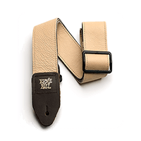Sangle en cuir italien - beige Thumb