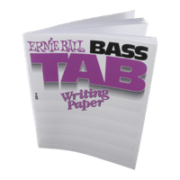 Bass Tab Writing Paper Thumb