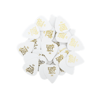 Heavy White Cellulose Picks, bag of 144 Thumb