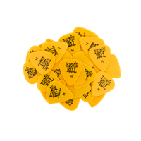 Heavy Yellow Picks, Bag of 144 Thumb