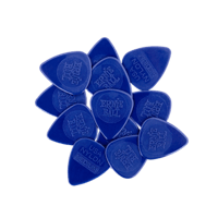 Medium Nylon Picks Injection Molded 0.72mm Bag of 12 Thumb