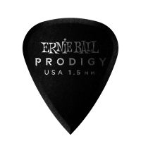1,5 mm Black Standard Prodigy Picks 6er Pack Thumb