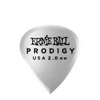 2,0 mm White Mini Prodigy Picks 6er Pack Thumb