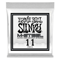 .011 M-Steel Plain Electric Guitar Strings 6 Pack Thumb