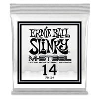 .014 M-Steel Plain Electric Guitar Strings 6 Pack Thumb