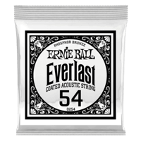 .054 Everlast Coated Phosphor Bronze Akustik-Gitarrensaite 6er Pack Thumb