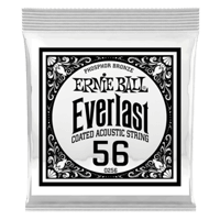 .056 Everlast Coated Phosphor Bronze Akustik-Gitarrensaite 6er Pack Thumb