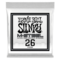 .026 M-Steel Wound Electric Guitar Strings 6 Pack Thumb