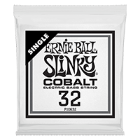 .032 Cobalt Wound Electric Bass String Single Thumb