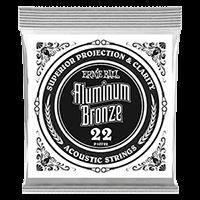 Paquet de 6 cordes .022 Aluminum Bronze Wound Acoustic  Thumb
