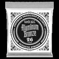 Paquet de 6 cordes .026 Aluminum Bronze Wound Acoustic  Thumb