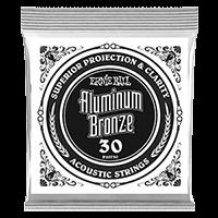 Paquet de 6 cordes .030 Aluminum Bronze Wound Acoustic  Thumb