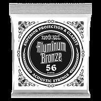Paquet de 6 cordes .056 Aluminum Bronze Wound Acoustic  Thumb