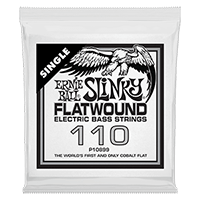 .110 Slinky Flatwound Electric Bass String Single Thumb