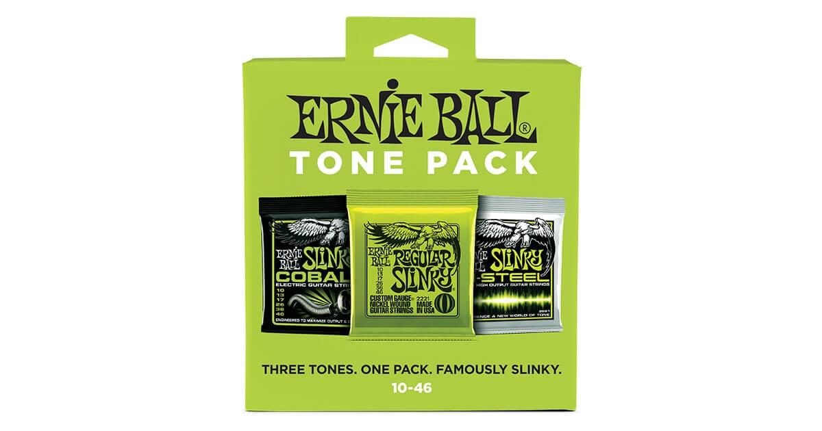 Electric Tone Packs Ernie Ball