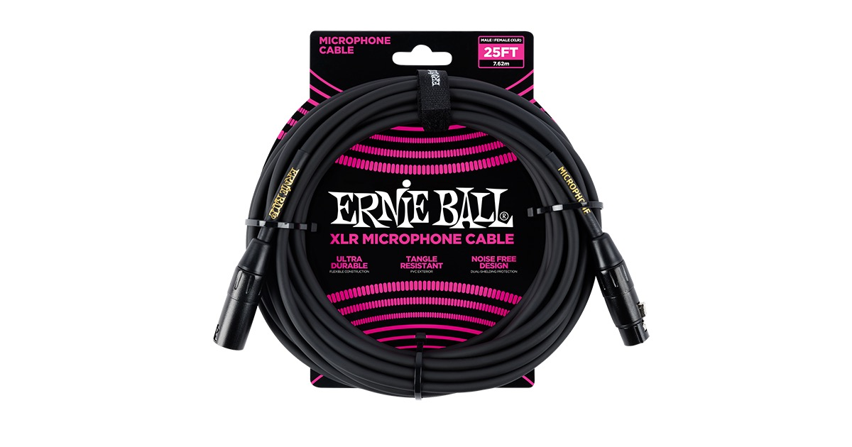 Microphone Cables Ernie Ball