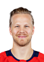 Lars Eller Face Photo on Ice