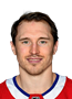 Brendan Gallagher Face Photo on Ice