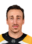 Brad Marchand Face Photo on Ice