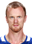 Henrik Sedin Face Photo on Ice