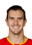 Mikael Backlund Face Photo on Ice