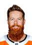 Ryan Ellis Face Photo on Ice