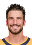 Roman Josi Face Photo on Ice