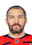 Alex Ovechkin Face Photo on Ice