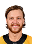 David Pastrnak Face Photo on Ice