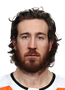 Kevin Hayes Face Photo on Ice