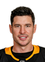 Sidney Crosby Face Photo on Ice