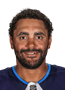 Dustin Byfuglien Face Photo on Ice