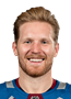 Gabriel Landeskog Face Photo on Ice