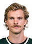 Jon Merrill Face Photo on Ice