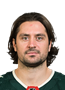 Mats Zuccarello Face Photo on Ice