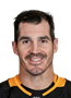 Brian Boyle Face Photo on Ice