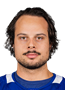 Auston Matthews Face Photo on Ice
