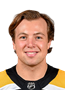 Charlie McAvoy Face Photo on Ice