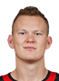 Brady Tkachuk Face Photo on Ice