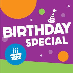Pump It Up 100% Private party for kids birthday special