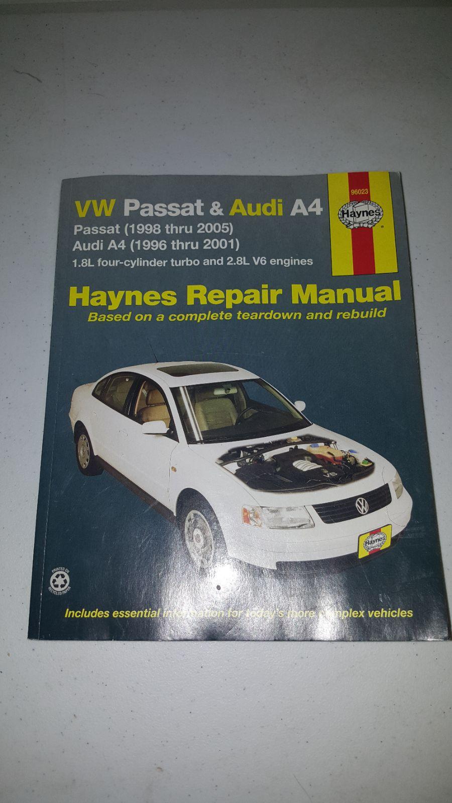Vw passat audi a4 haynes repair manual - Mercari: BUY & SELL THINGS YOU LOVE